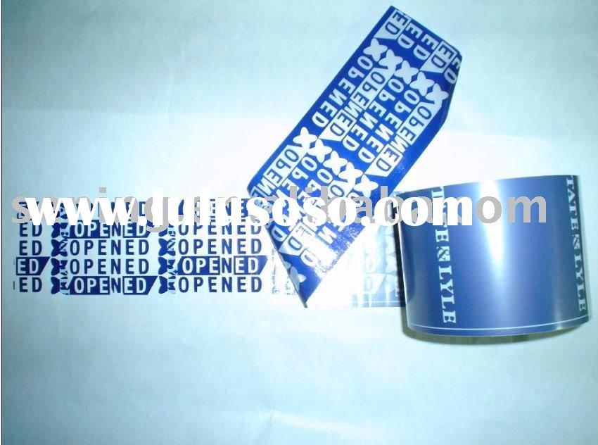 Tamper Evident Security Seal Tape