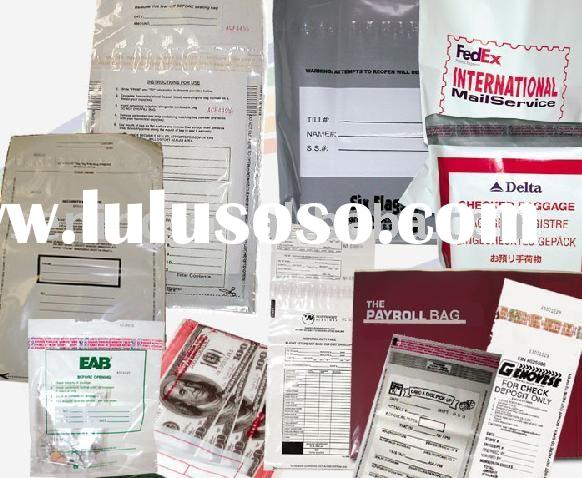 Tamper Evident Security Sealing Bags(Envelopes)