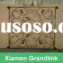 Wrought Iron Window Grille,Metal Window Grille