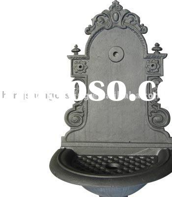 cast iron water basin