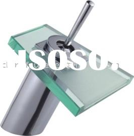 glass waterfall  tap(waterfall mixer,basin mixer)