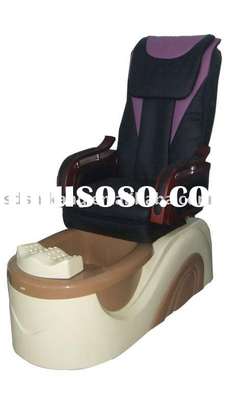 new pipeless pedicure foot spa massage chair with new basin (SK--504B)