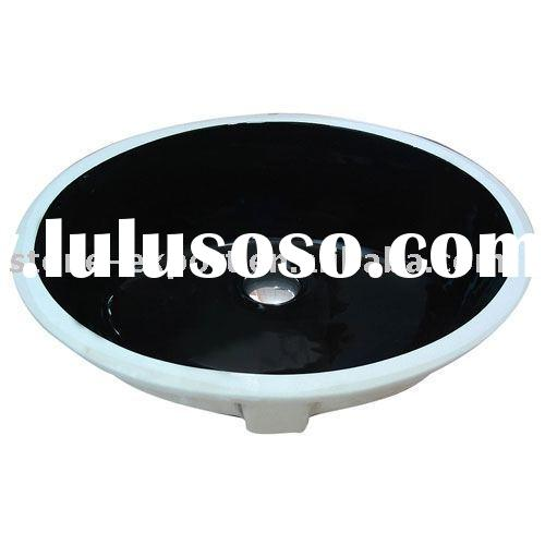 offer bathroom ceramic basins,bathroom black ceramic sink, sanitary ware