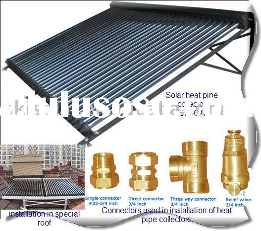solar heat pipe collector, SKI-CA, ISO&CE
