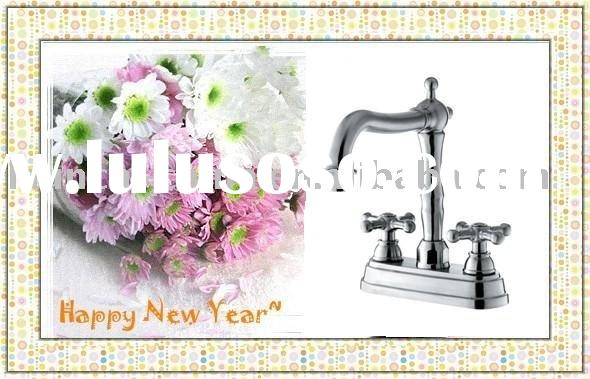 stainless steel basin wall mount faucet