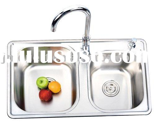 stainless steel sink basin, restaurant water sink with overflow