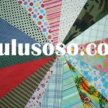 100% cotton printed fabric for garment, dress and home textiles