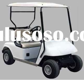 2 seater battery powered electric golf car