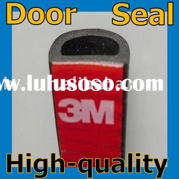 Interior door foam strip quiet