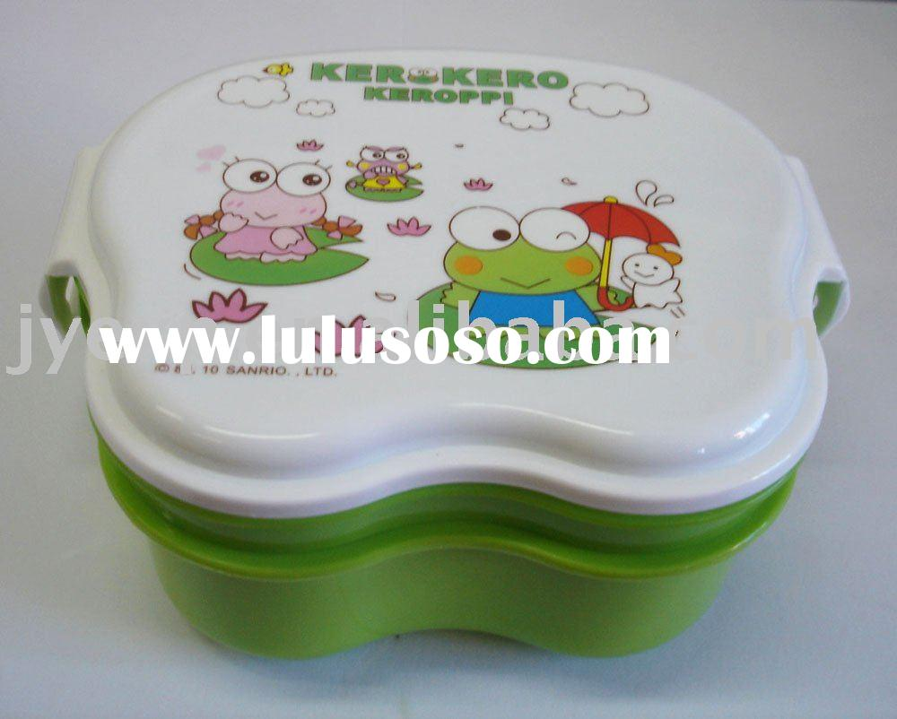 Children Small Lovely Plastic Lunch Box