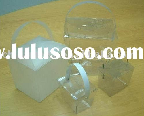 Clear Gift packing boxes