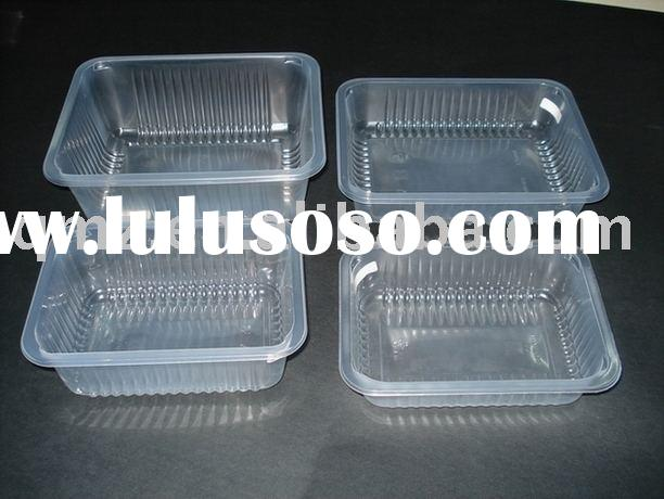 Clear PP food tray