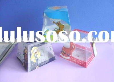 Clear acetate gift boxes