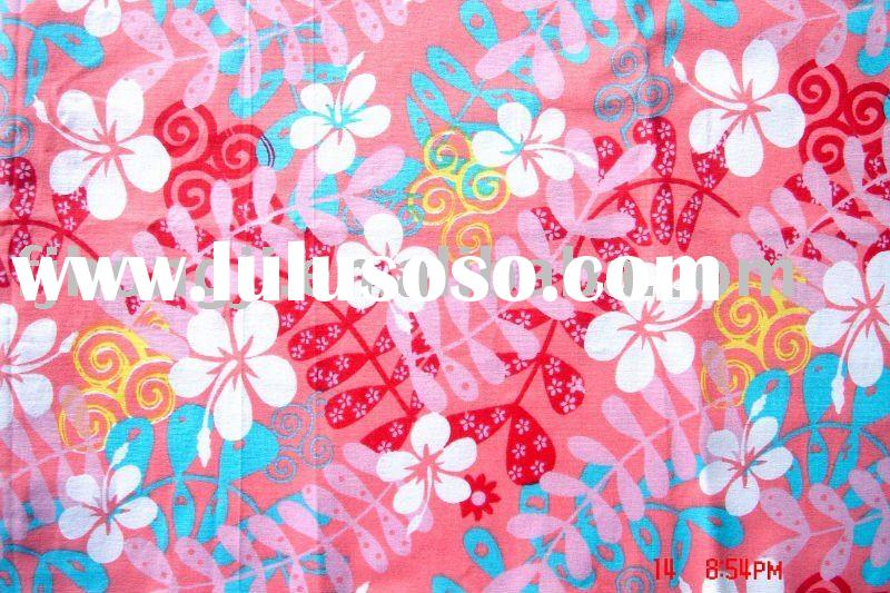 Cotton printed fabric woven dress fabric