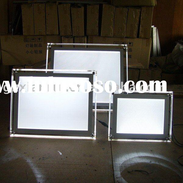 LED Illuminated Poster Frame