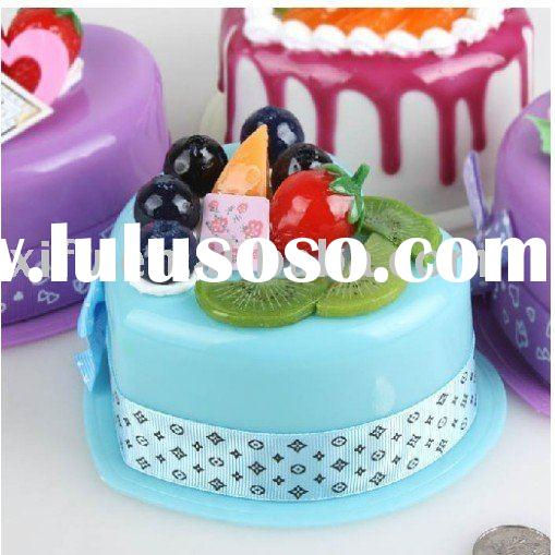 New Item!Birthday Cake Piggy Bank Money Safe Boxes
