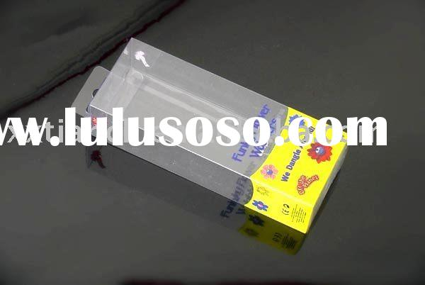 PVC plastic box for cosmetic packaging