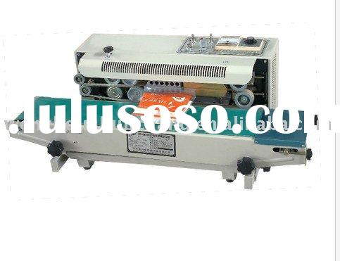 Small Continous Plastic Bag Sealing Machine