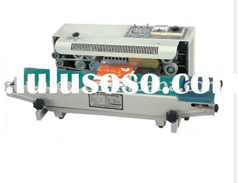 Small Continuous Plastic Bag Sealing Machine