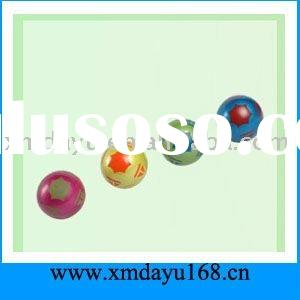 Spray Paint Rubber Ball,Colorful Rubber Ball