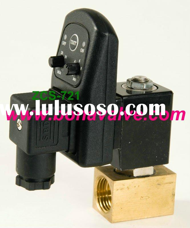 Timer Auto Drain Solenoid Valve air compressor normally closed
