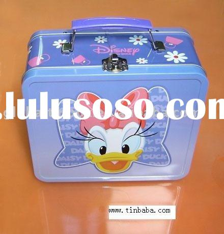 Tin Lunch Boxes Handle Box