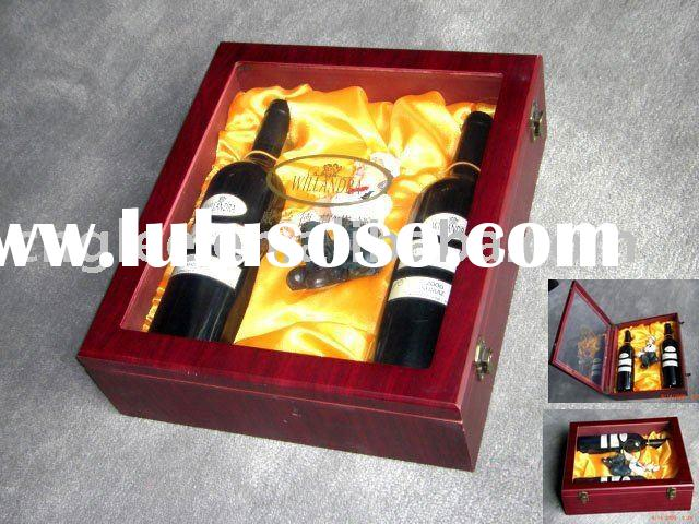 WINE GIFT BOXES - WINE BOX SET FOR TWO BOTTLES