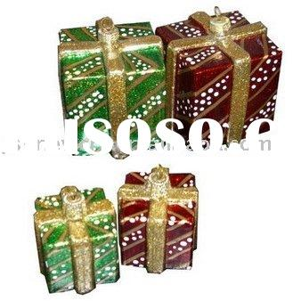 XMAS  GLASS  GIFT  BOX