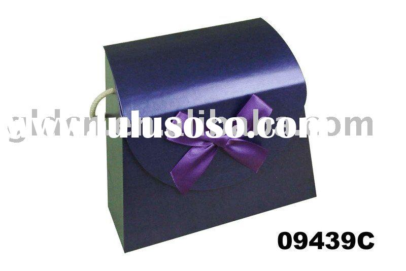 bag shape Paper box