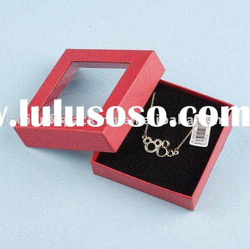 clear lid gift boxes for jewelry