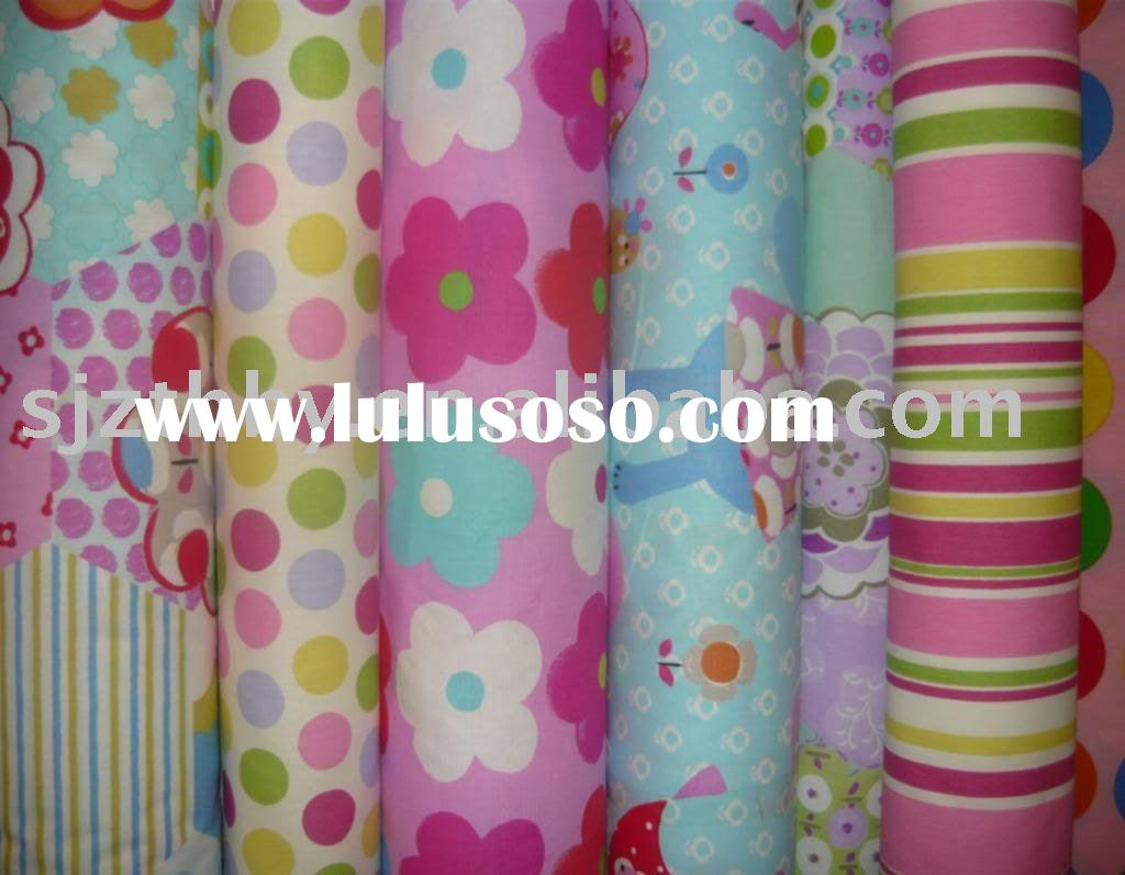 cotton printed dress fabric