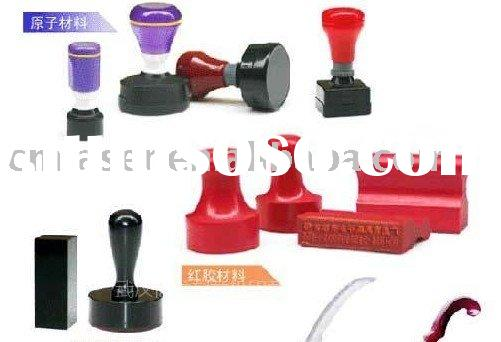 laser seal engraving machines/ plastic stamp machinery