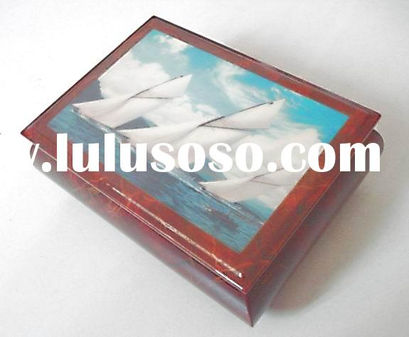 music boxes, jewelry boxes