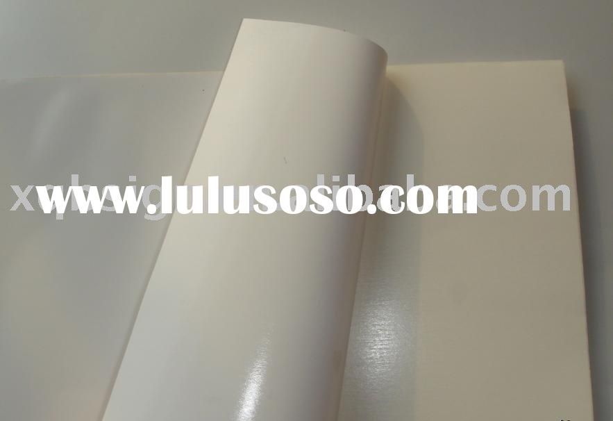 screen printing service on self-adhesive vinyl material