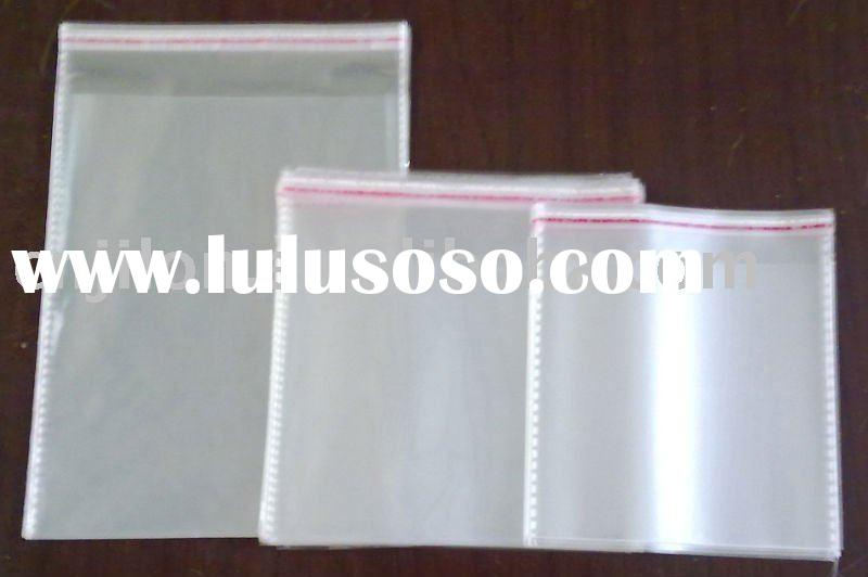 self adhesive seal opp cellophane bag