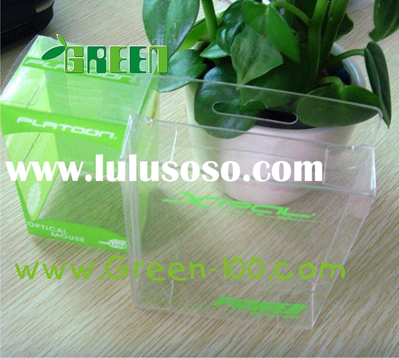 small plastic packaging box