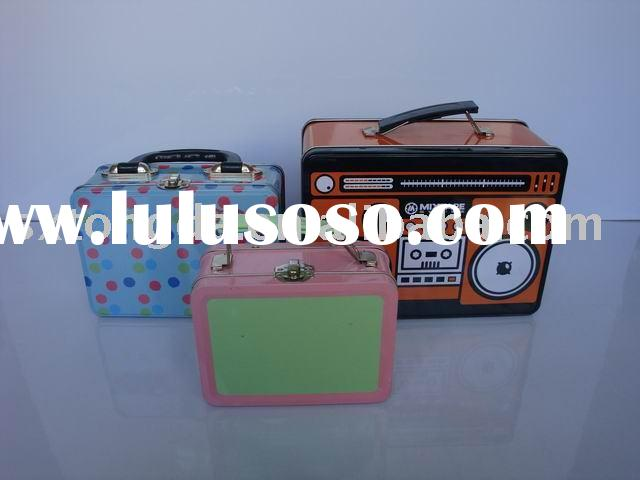 tin lunch boxes(tin can)