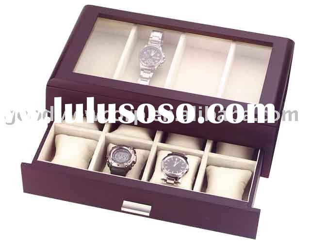 wooden watch box & wooden gift box & wooden case