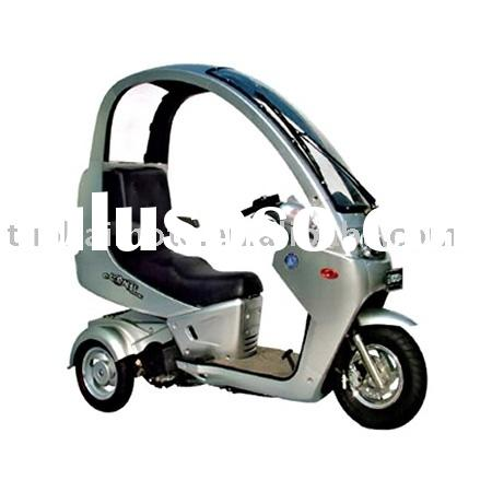 150cc Three-wheels scooter with Roof/150cc EEC Trike scooter with Cover (TKM150E-D)