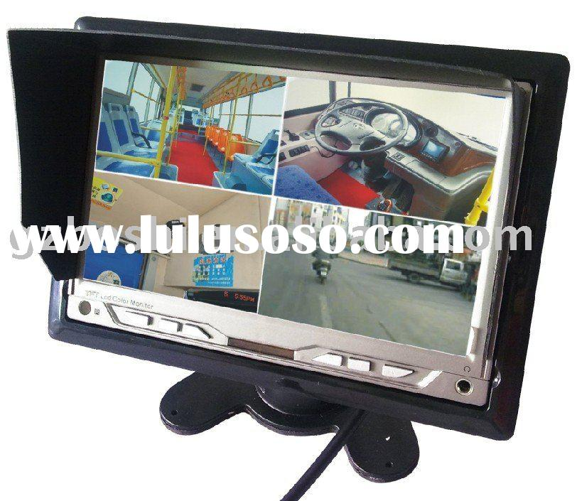 "2010 HOT 7"" quad lcd Monitor"