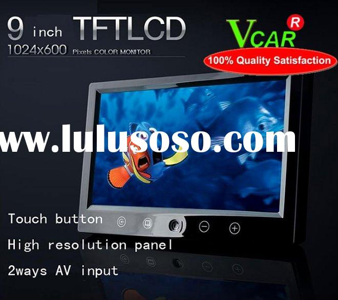 2011high quality,low price 9inch Touch Screen Headrest Monitor