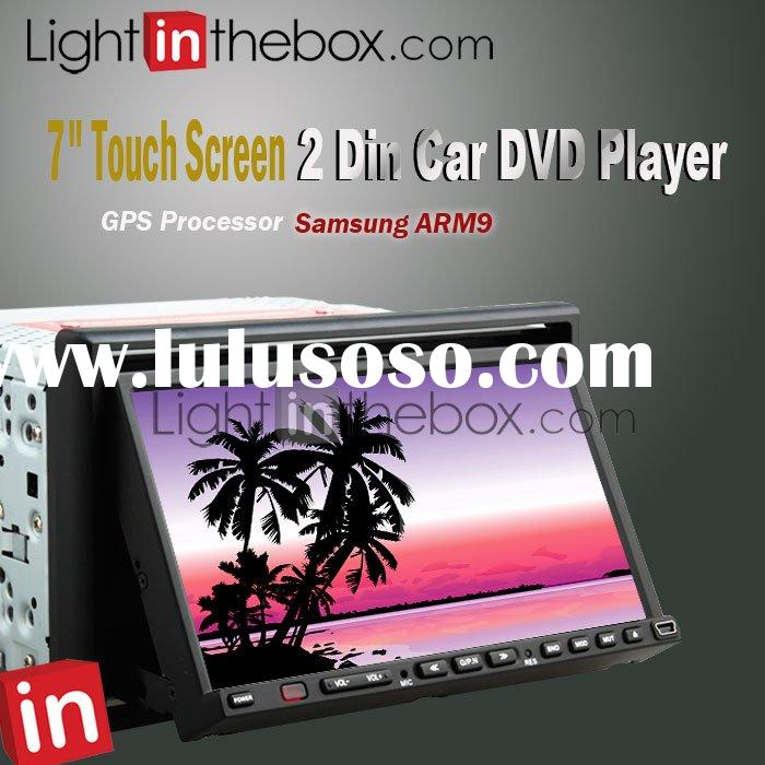 "27907 7"" Touch Screen GPS Dual Zone 2 Din Car DVD Player"