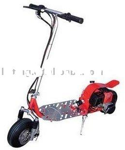 2 stroke gas scooter