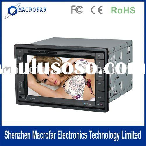 "6.2"" In-Dash car dvd player with bluetooth AV-in iPod/iPhone Control"