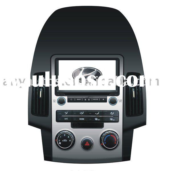 "7"" Digital+GPS+Bluetooth+Tv+Radio Car DVD Player for HYUNDAI I30 MANUAL AIR CONDITIONING"