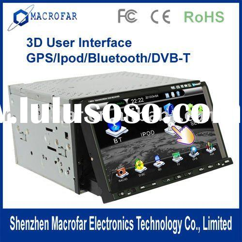 "7"" In-Dash car dvd player AV-In Receiver with bluetooth ,av-in"