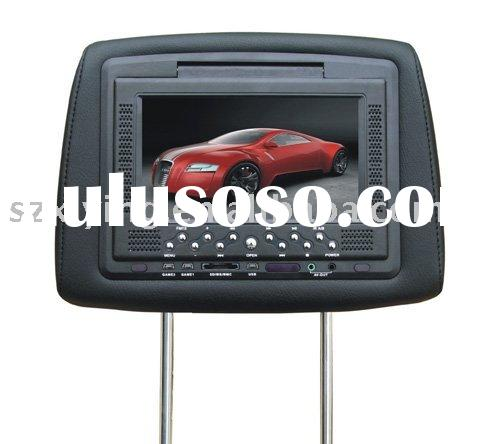 7 with sony dvd loader inch headrest car dvd player