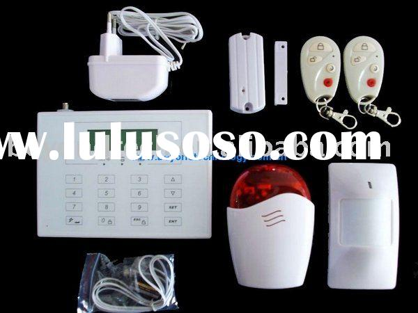 868MHZ PSTN and Best GSM Home Alarm System with Touch Keypad and Wireless doorbell