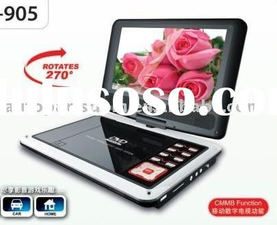 9'' Portable car dvd player best quality and good price