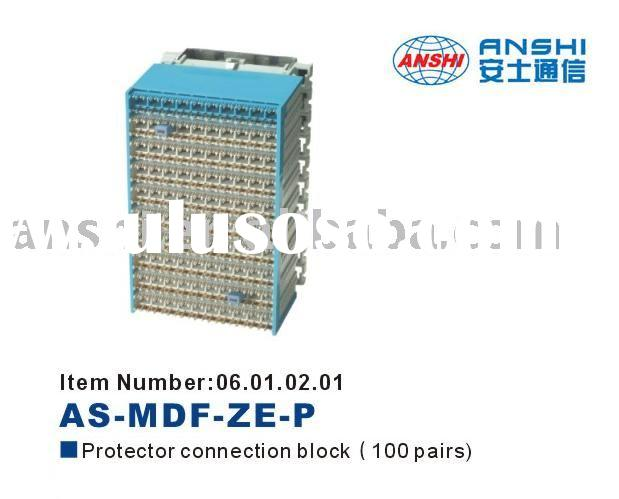 ANSHI 100 Pairs Protector ConnectionBlock